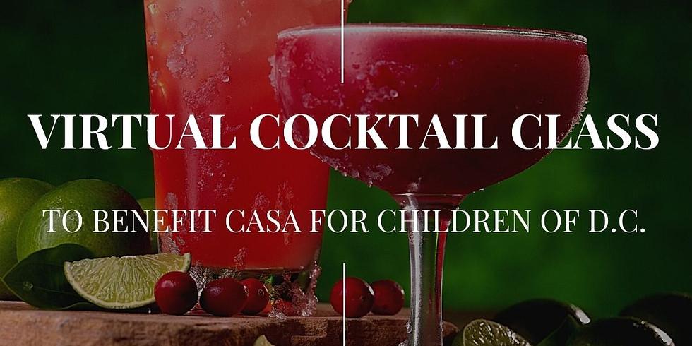 Virtual Cocktail Class!