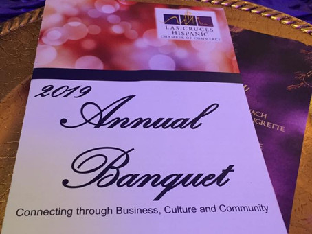 Las Cruces Hispanic Chamber Awards Banquet/ Walking With Herb