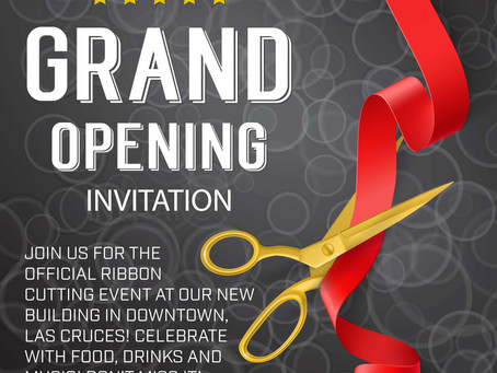 It's time to cut the ribbon & celebrate!
