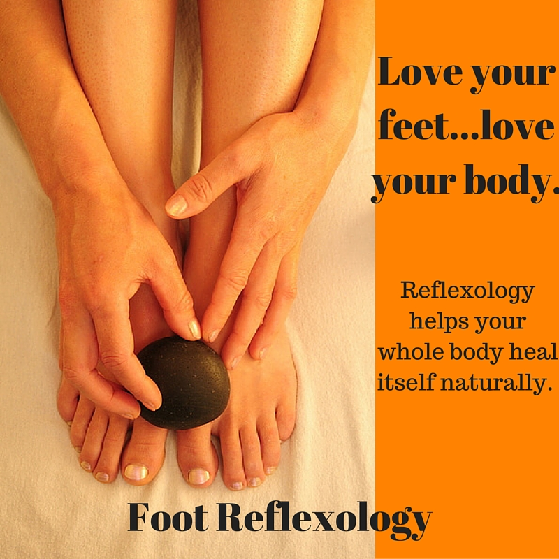 Love your feet...love your body.