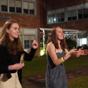 Seniors celebrate under the stars