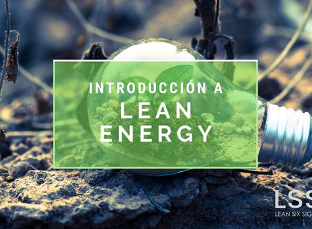 Introducción a Lean Energy