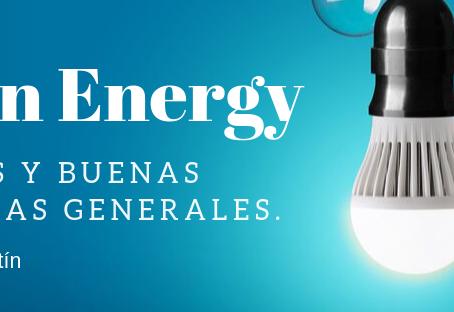 Lean Energy, hábitos y buenas prácticas generales.