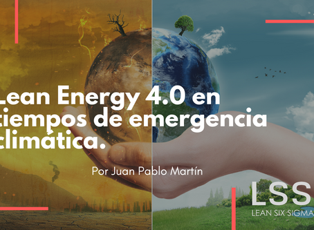 Lean Energy 4.0 en tiempos de emergencia climática.