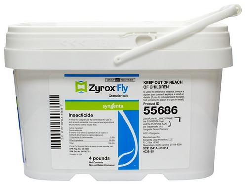 Zyrox Granular Fly Bait 4 lbs