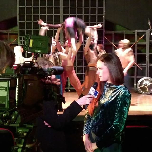 #backstage #broadcast