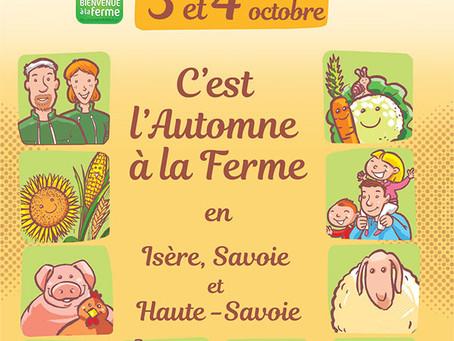 L'automne à la ferme en Isère, Savoie et Haute-Savoie