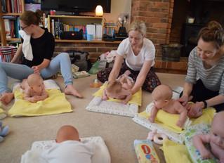 Baby Massage bliss!