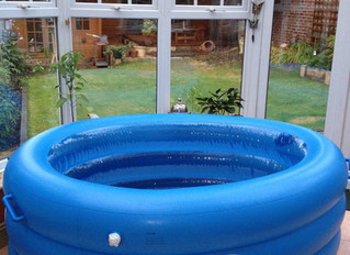 Free birth pool hire!  Advantages of having a water birth