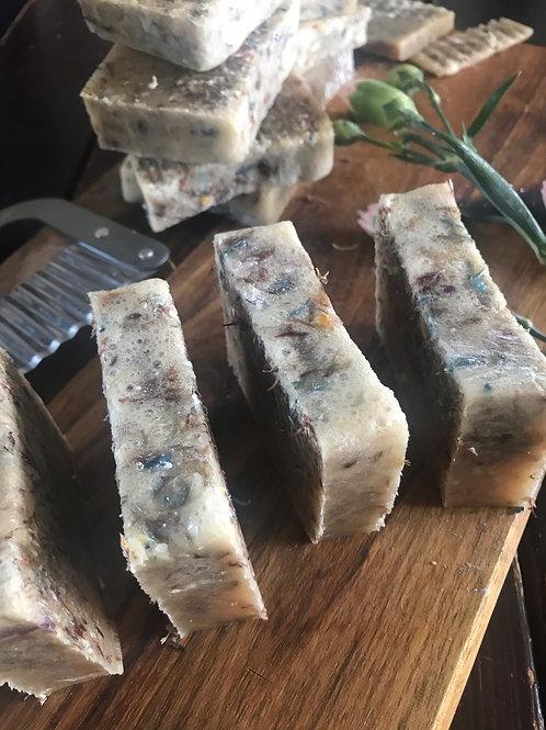 Organic Basil and Rose Geranium Soap