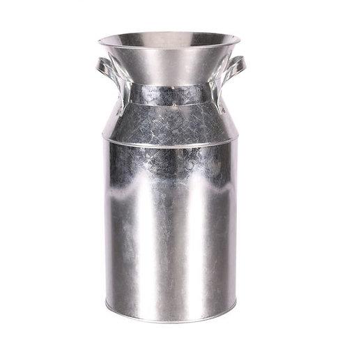 Galvanised Milk Churn