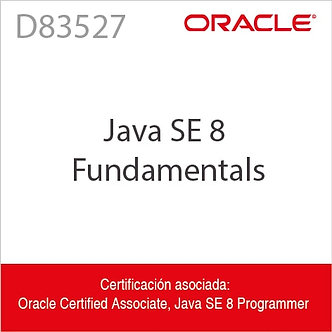 D83527 | Java SE 8 Fundamentals