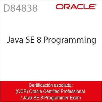 D84838   Java SE 8 Programming
