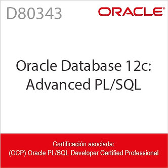 D80343 | Oracle Database 12c: Advanced PL/SQL Ed2