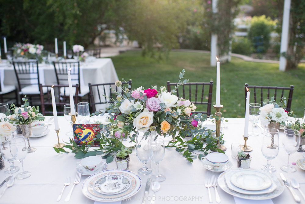 Vintage Wedding Table Rentals