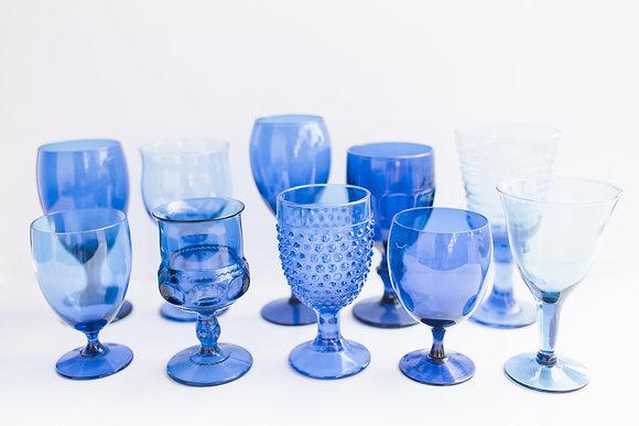 Royal Blue Goblets