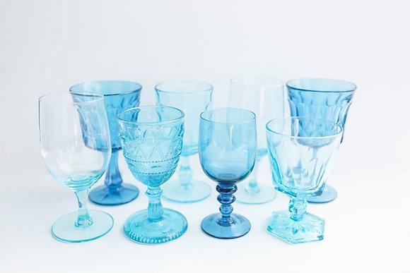 Aqua Goblets