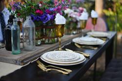 Vintage Organic Wedding Rentals