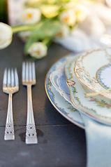 vintage dish rental, wedding decorations, party rentals los Angeles