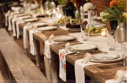 Organic Tabletop Rentals Wedding