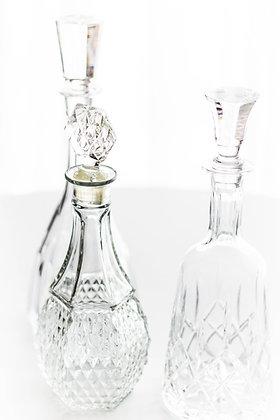 Cut Crystal Glass Decanter