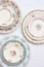 Vintage Dish Rental, Vintage Plate Rental