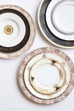 Rent vintage china for wedding