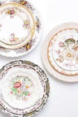 Organic Wedding Plates for Wedding