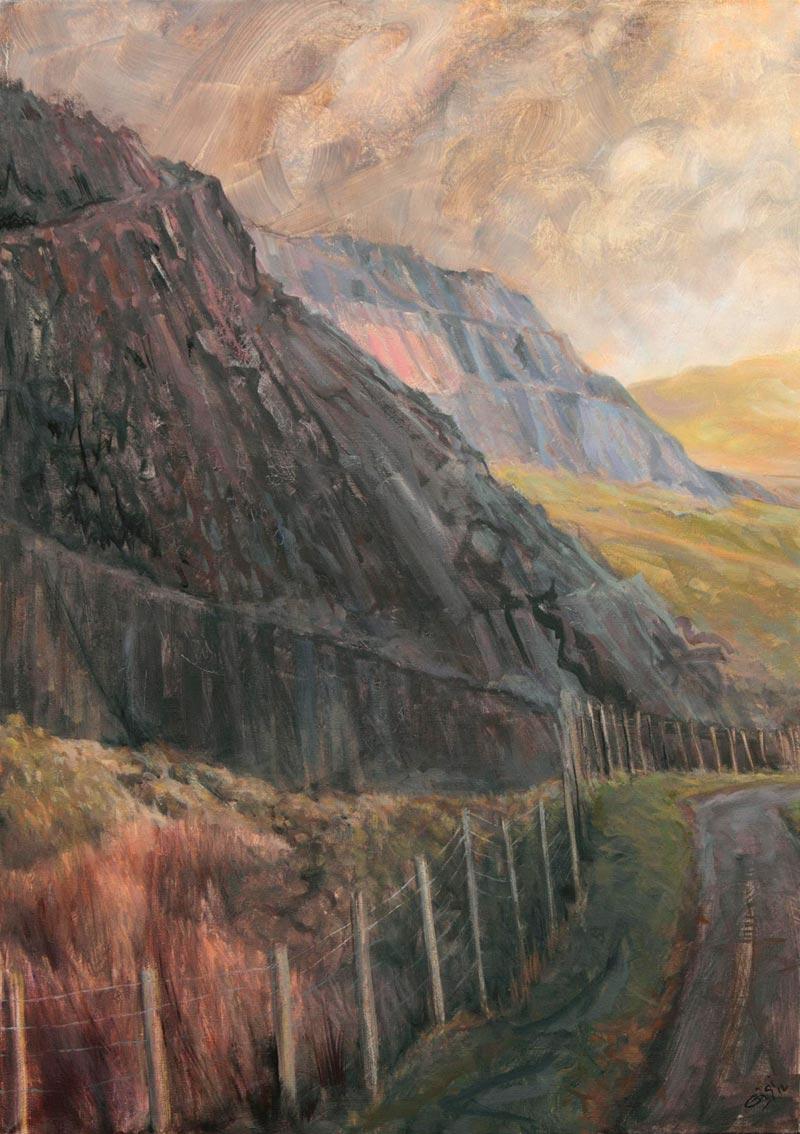On Mynydd Fochriw