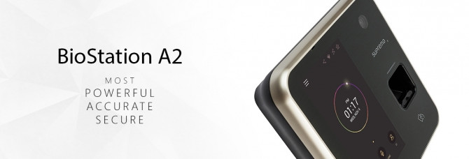 Neues Fingerprint Terminal BioStation A2