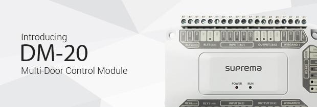 Türcontroller DM-20 für Suprema Zutrittskontrolle