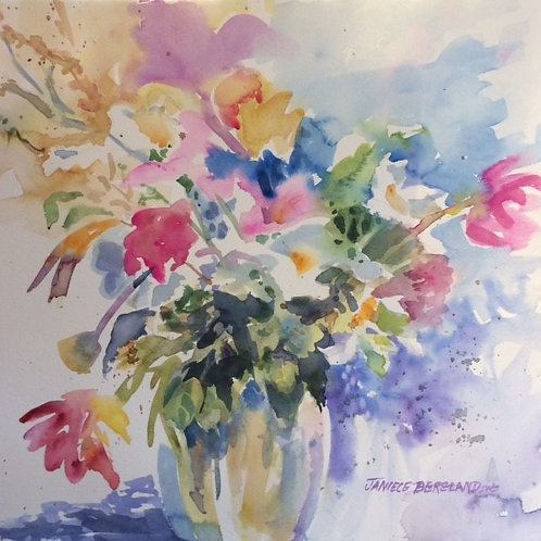 June Bouquet by Janiece Bergland