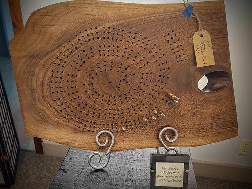 Cribbage Board by Bill Haywood