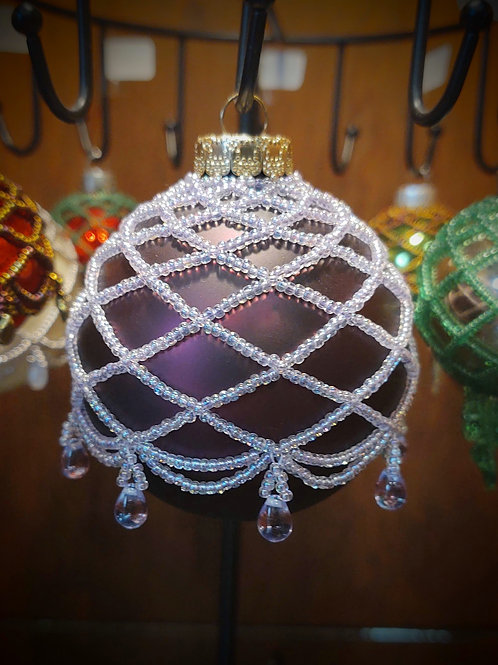 Beaded Ornament (Large) by Anne Boerschel