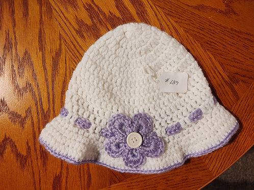 Children's Crocheted Sun Hat by Kathi Fehr