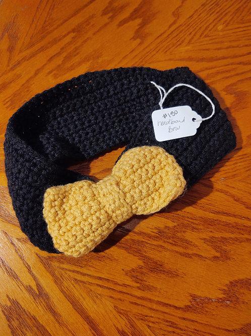Crocheted Headband by Kathi Fehr