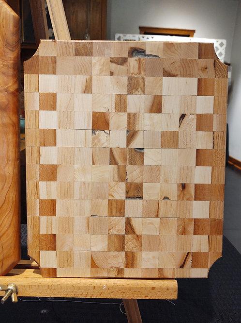 Checker Out My Cutting Board by Kurt Wedeking