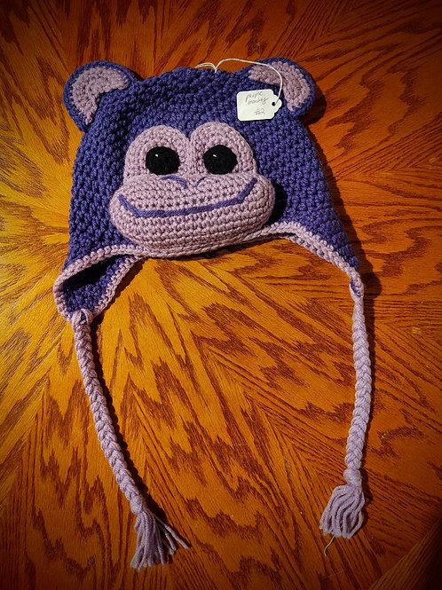 Crocheted Monkey Hat by Kathi Fehr
