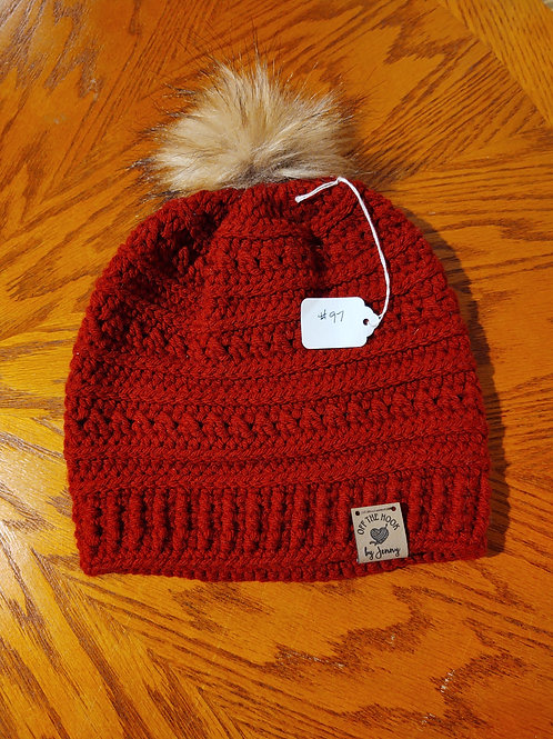 Crocheted Hat by Kathi Fehr