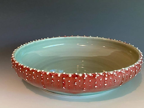 "9"" Dotted Bowl by Ruben Ruiz"