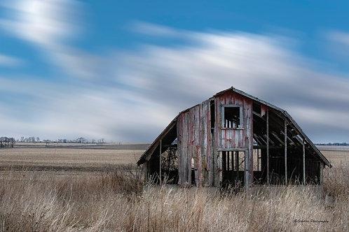 Old Barn, Framed Print by Stephen Schiller