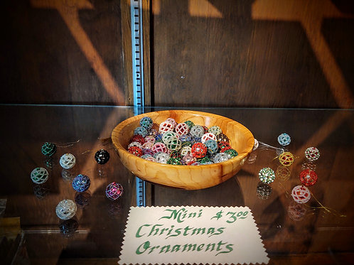 Mini Christmas Ornaments by Anne Boerschel