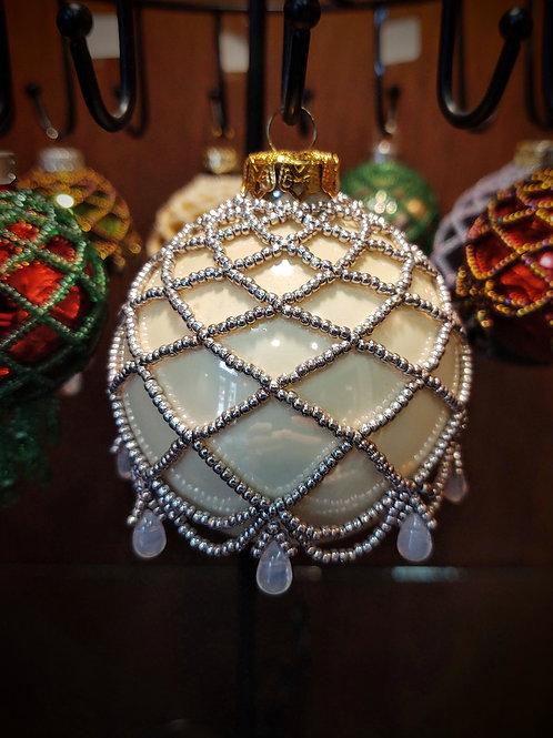 Beaded Ornament (Large) by Anne Boerschel