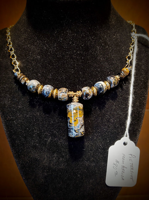 Beaded Necklace by Anne Boerschel
