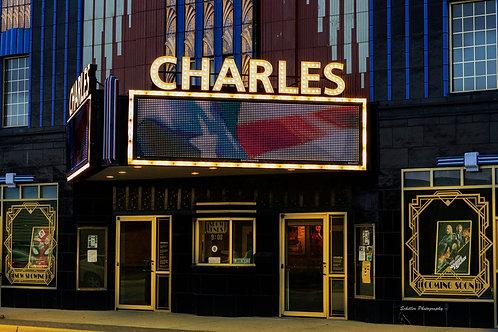 Charles Theater, Fine Art Print by Stephen Schiller
