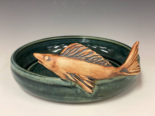 Small Bowl with Fish by Ruben Ruiz