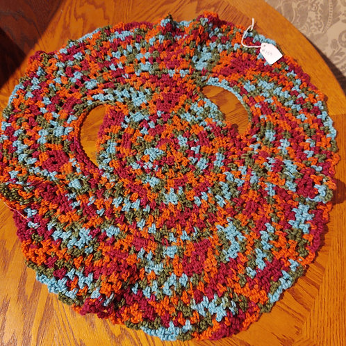 Children's Crocheted Vest (4T) by Kathi Fehr