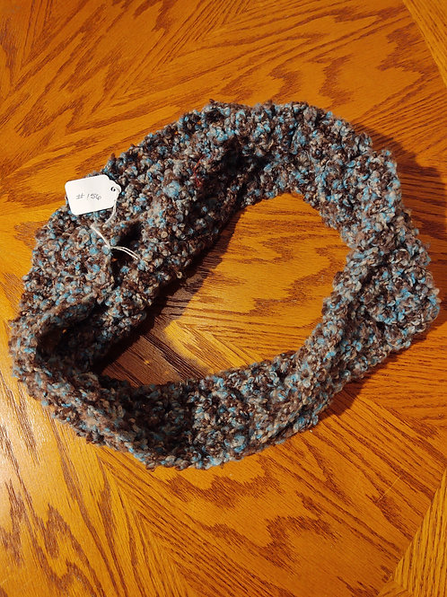Crocheted Infinity Scarf by Kathi Fehr