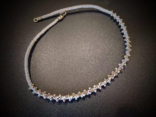 Kumihimo Necklace by Anne Boerschel