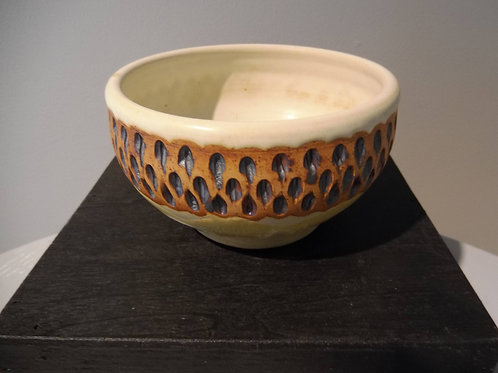 Small Carved Bowl by Ruben Ruiz